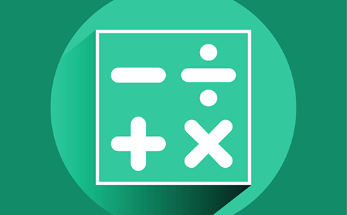 icon with math factors